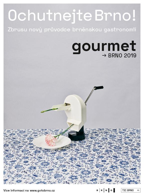 Gourmet Brno - Brožura